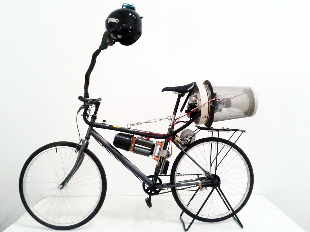 Breathing Bike von Matt Hope