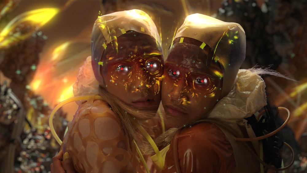 Flesh Nest von Andrew Thomas Huang
